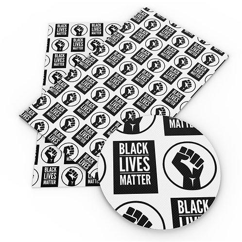 BLM Printed Embroidery Vinyl