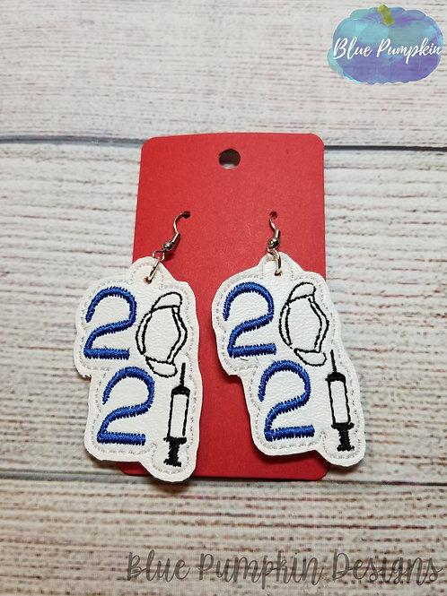 2021 Needle Earrings