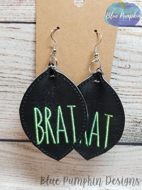 Brat Earrings