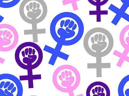 Girl Power Embroidery Vinyl