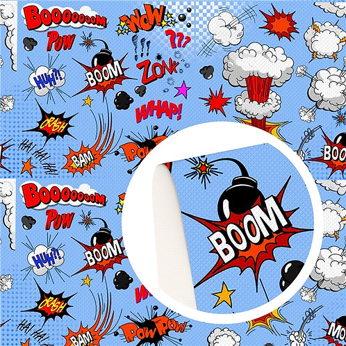 Boom WOW Embroidery Vinyl