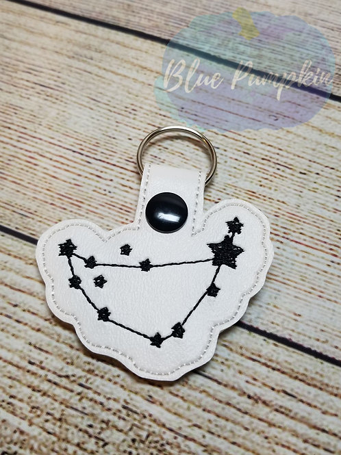 Capricorn Constellation  Key Fob