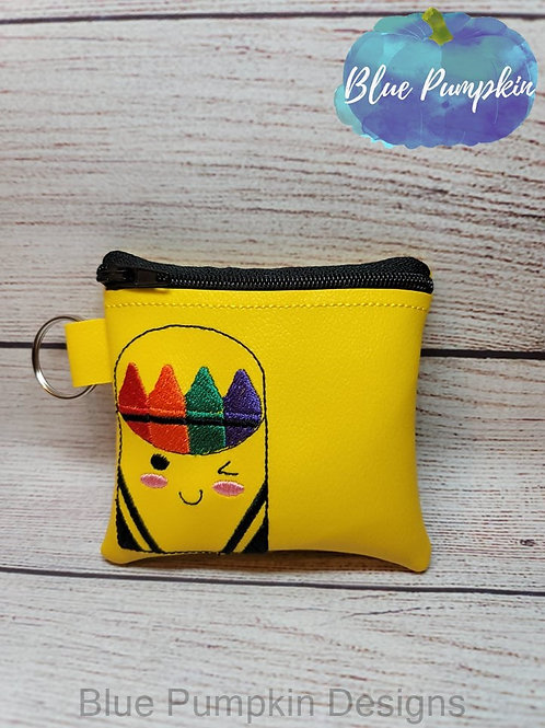 Crayon Set Zipper Bag Design