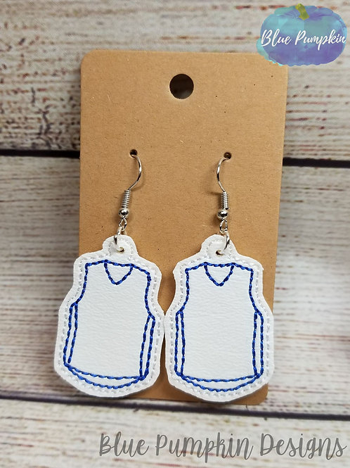 Basketball Jersey Earrings