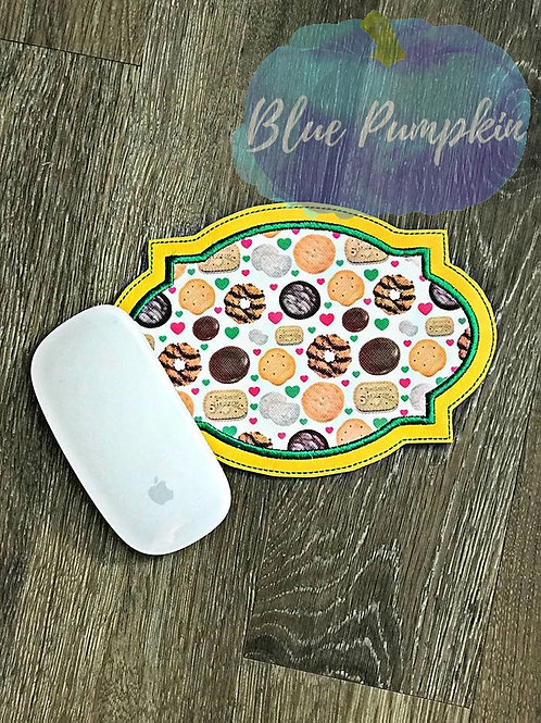 5x7 ITH Frame Applique Mouse Pad Design