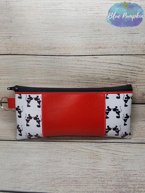 Skinny Scraps Pencil Bag 6x10 ITH Zipper Bag Design