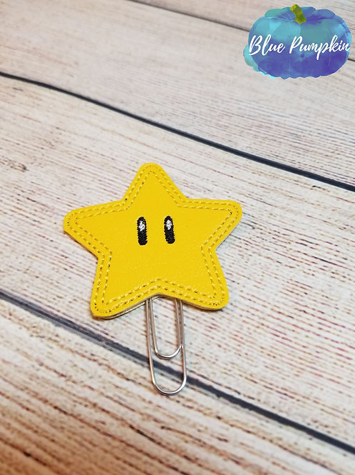 Star Paper Clip Toppers