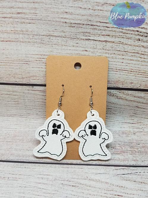 Angry Ghost Earrings