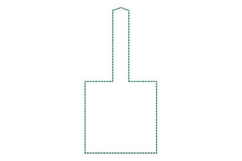 Blank Square Key Fob