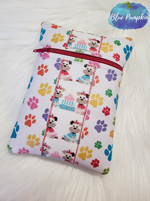 7x5 Tall ITH Zipper Bag Design with Stripe