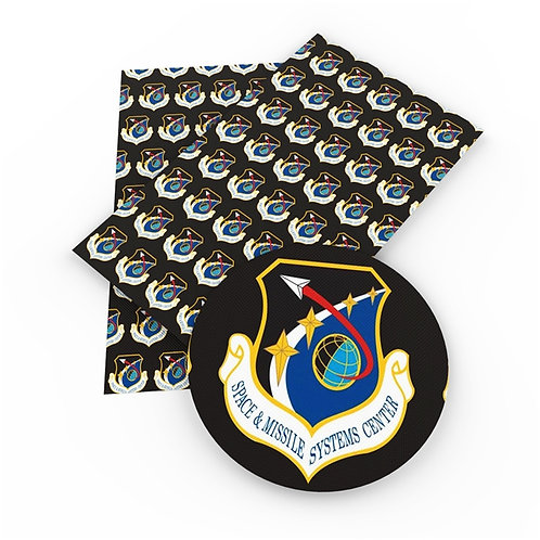 Space and Missile Systems Printed Embroidery Vinyl