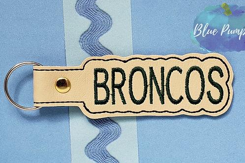 Broncos Key Fob