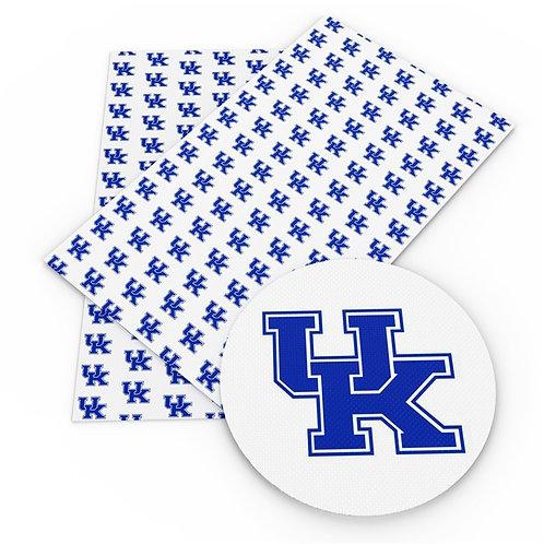 White Kentucky Embroidery Vinyl