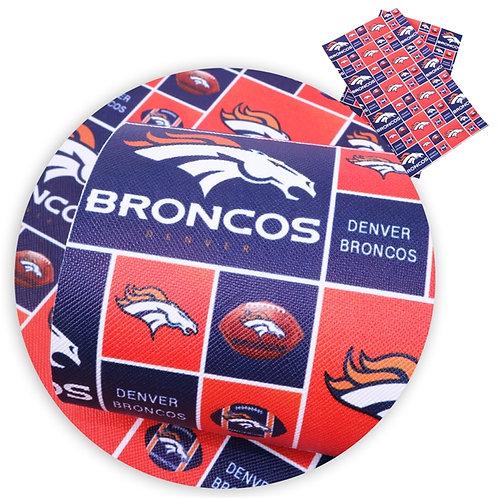 Broncos Squares Embroidery Vinyl