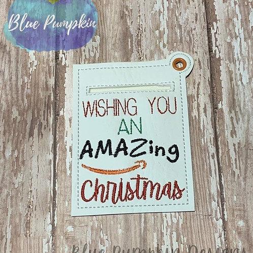 Amazing Christmas Gift Card Holder