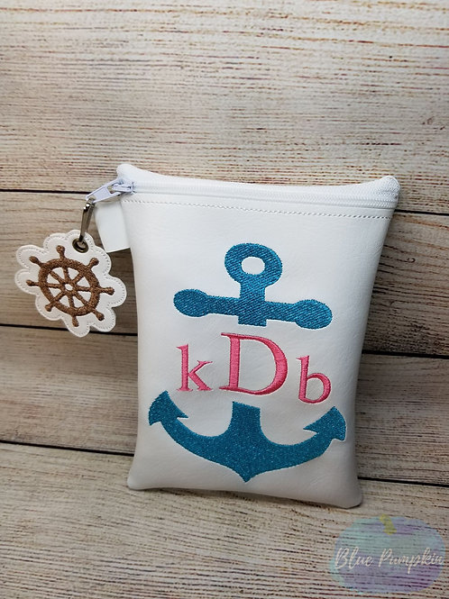 Anchor Bag ITH Zipper Bag Design