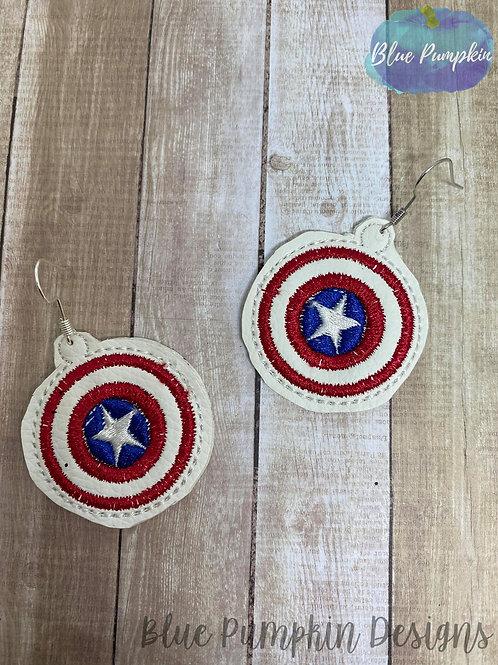 CapMerica Earrings