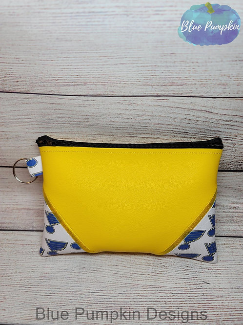 3 sizes Corner Applique Zipper Bag Design