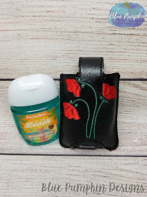 Poppy Stem Hand Sanitizer Holder