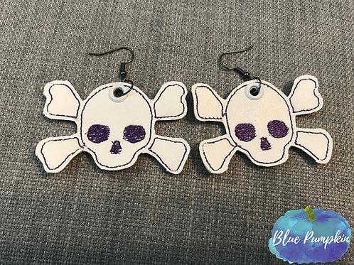 Skull Earrings Design