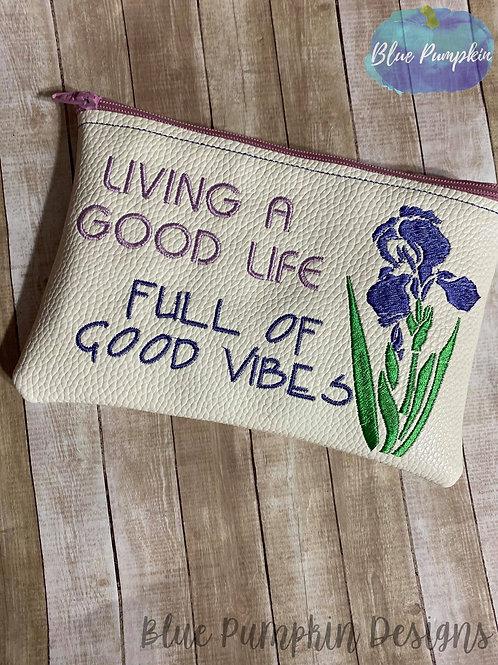 Good Life 5x7 ITH Bag Design