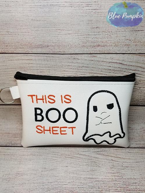 Boo Sheet ITH Bag Design