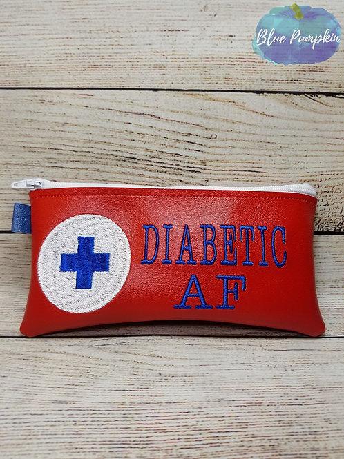 Diabetic AF ITH Zipper Bag Design