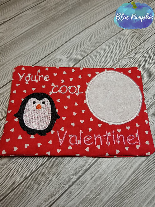 Penguin Valentine's Day Mug/Snack Mat