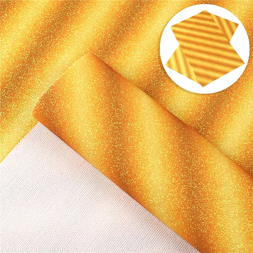 Yellow Gold glitter with Variation  Embroidery Vinyl