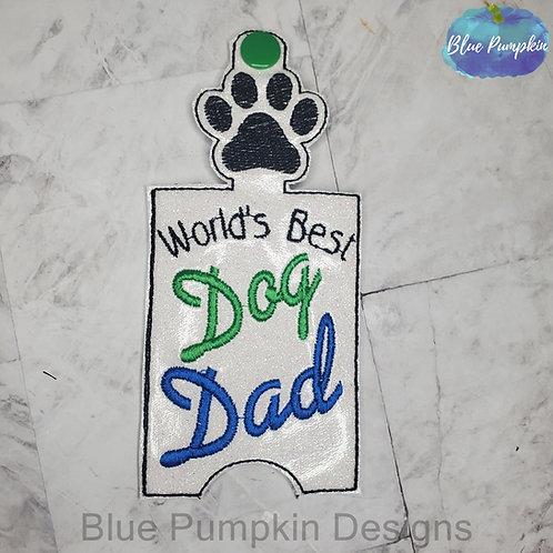 Best Dog Dad Bottom Dispenser Poop Bag Holder