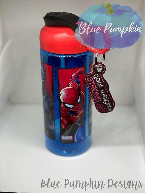 Strong AF Water Bottle Dangle