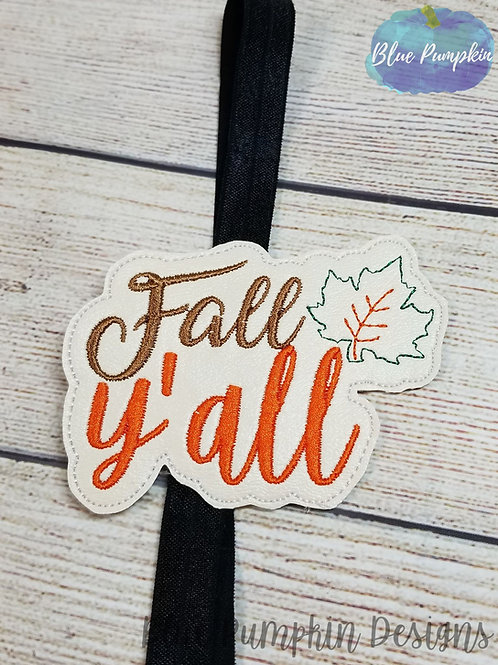 Fall Y'all Planner Band