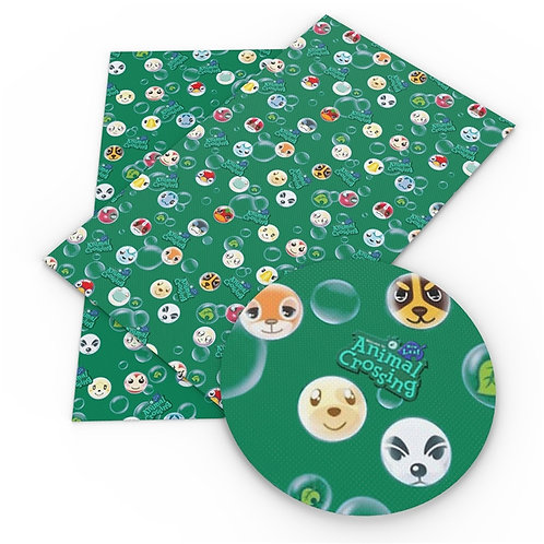 Green with Bubbles AC Embroidery Vinyl