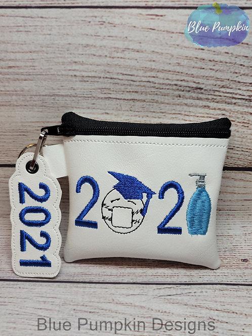 2021 Grad Bag 4x4/ 5x5/6x6  Zipper Bag Design