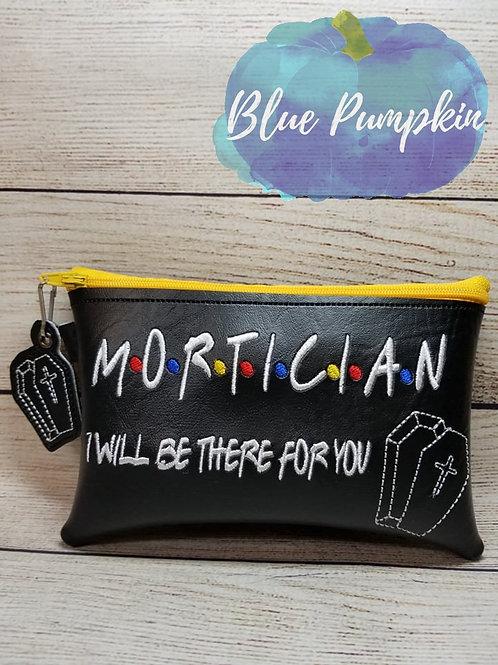 Mortician 90's Style ITH Zipper Bag Design
