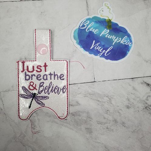 Breathe Believe 1oz Sani Bottle Holder