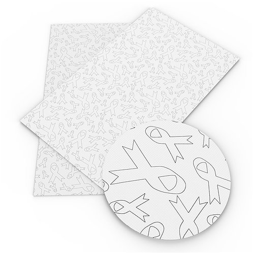 Awareness Ribbon Outlines Embroidery Vinyl