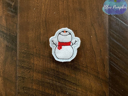 Snowman Feltie