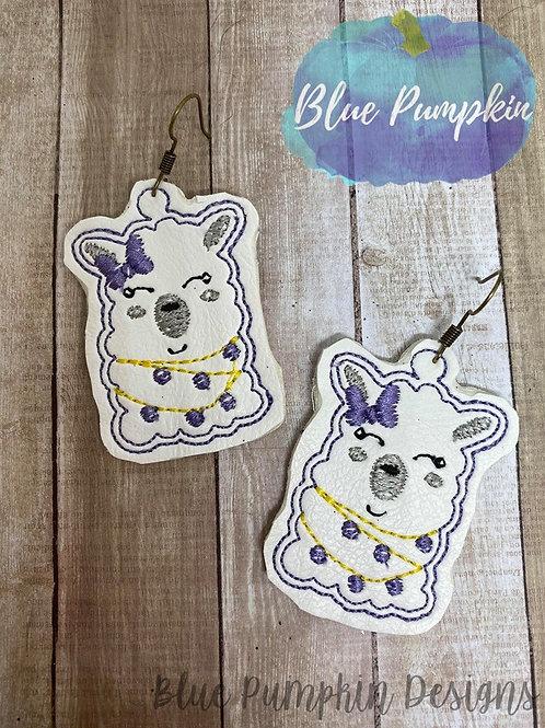 Cutie Llama Earrings