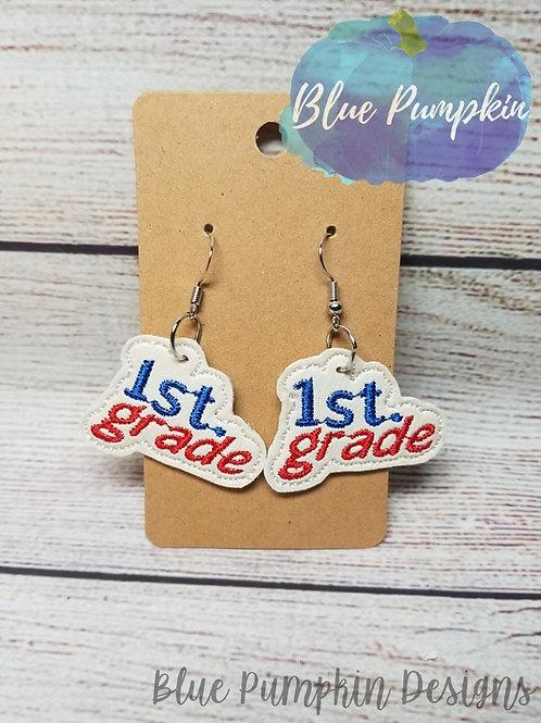 1st Grader Earrings