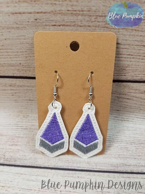 Diamond with Fill Earrings