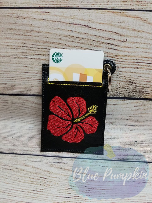 Hibiscus Gift Card Holder