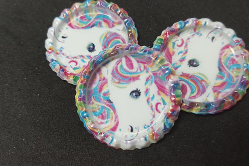 Rainbow Horse Bottle Cap