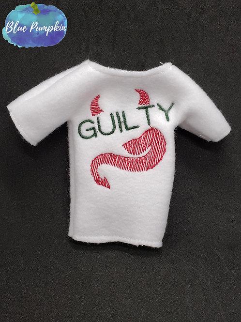 Guilty Devil Elf Shirt