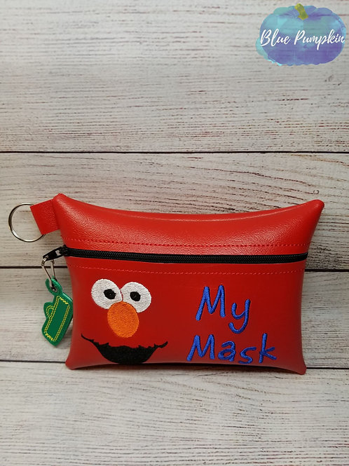 Red Monster ITH Bag Design