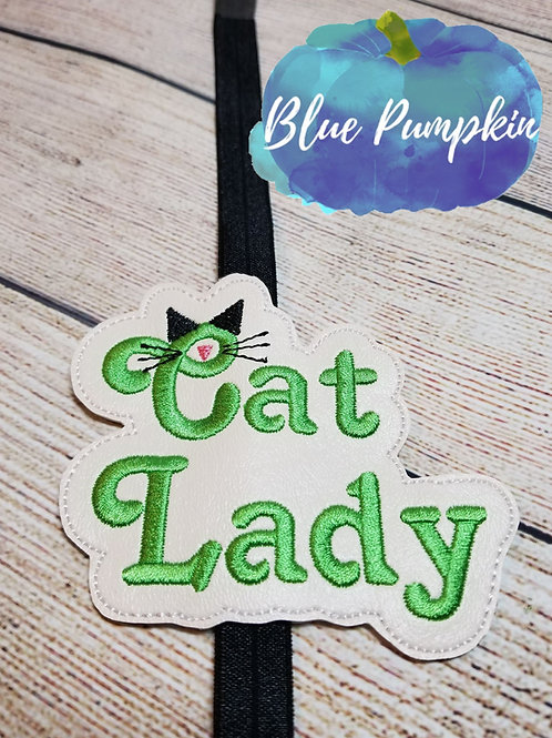 Cat Lady Planner Band