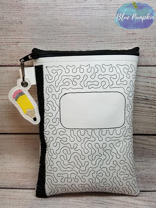 Composition Notebook 7x5 ITH Bag Design