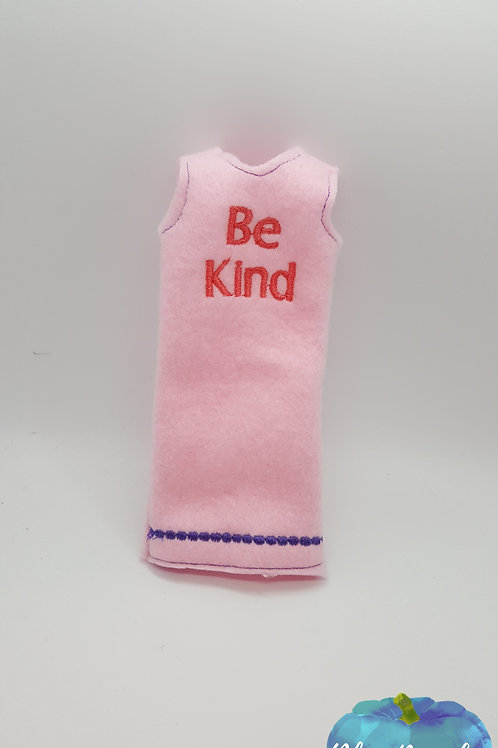 Be kind Elf Tank Top Dress ITH