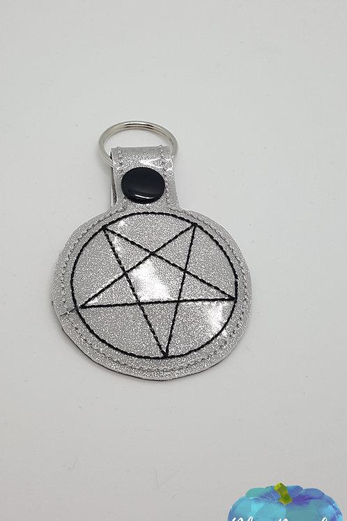 Demon Trap Supernatural Key Fob