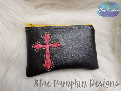 Celtic Cross ITH Zipper Bag Design